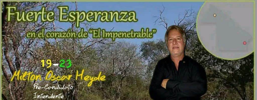 Entrevista Exclusiva con el Precandidato a Intendente Milton Oscar Heyde