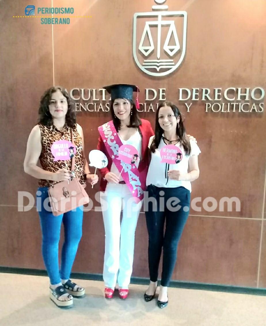 Impenetrable: Maru Mercado Primera Escribana de Fuerte Esperanza Graduada en la UNNE