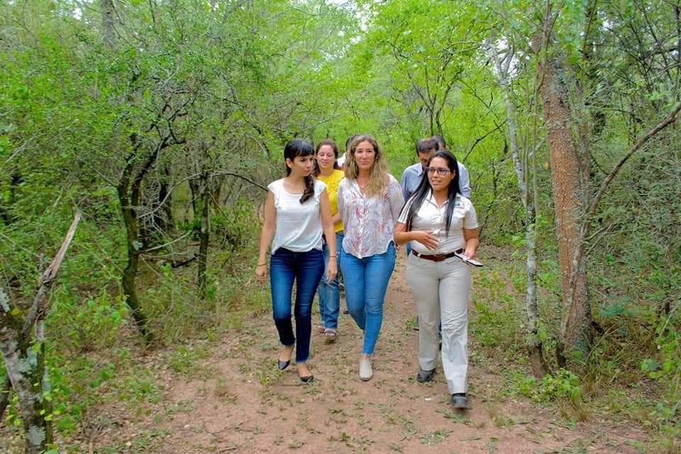 La Vicegobernadora Analía Rach Quiroga visitó el Parque Natural Provincial Fuerte Esperanza