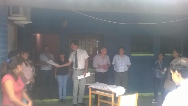 Designaciones docentes en Fuerte Esperanza