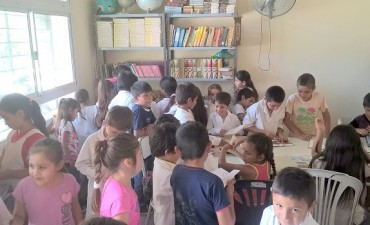 "La ""Juana Azurduy de Padilla"" a la vanguardia con el incentivo a la lectura"
