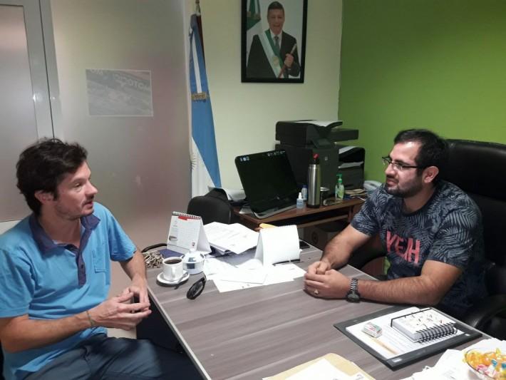 Castelli: Secretario de gobierno recibe a Mundo SANO