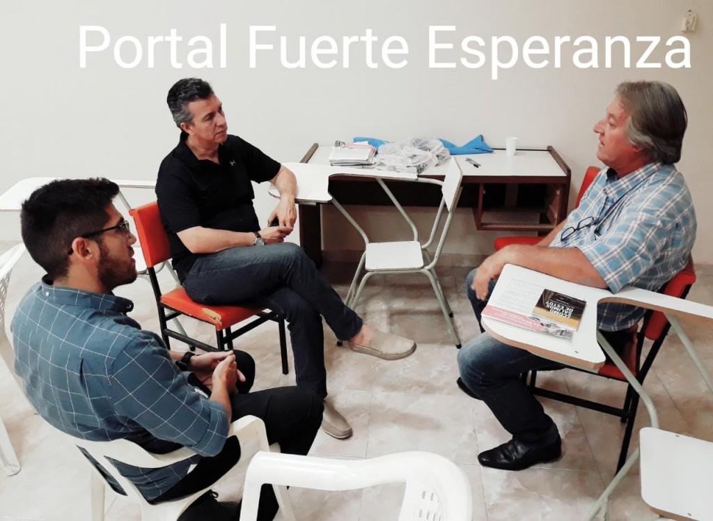Milton Heyde se Reunió con el Senador Eduardo Aguilar