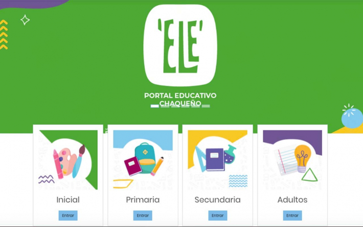 """Este miércoles se lanzará """"ELE"""", la plataforma educativa para los estudiantes chaqueños"""