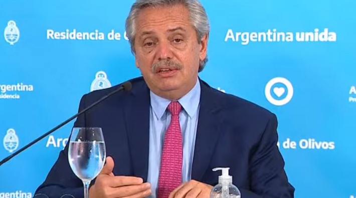 Fernandez anunció que se extiende el aislamiento obligatorio hasta el 12 de abril