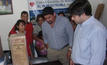 Donaciones de Fundación Banco Nación en Fuerte Esperanza