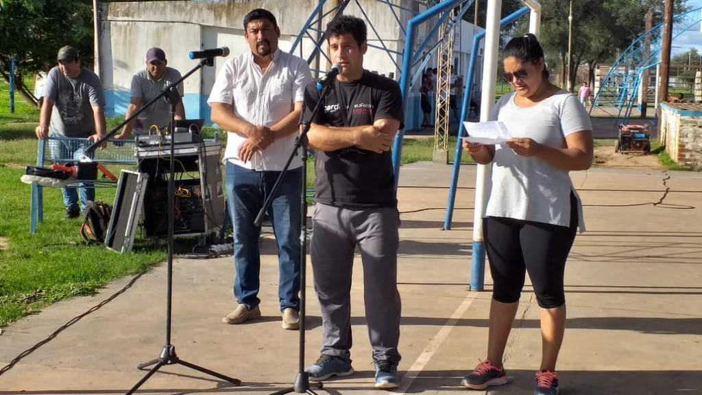 FUERTE ESPERANZA: CON LA PRESENCIA DE WALTER BULINQUI CORREA INICIO LA LIGA FUERTEÑA DE FUTBOL