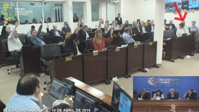 Darío Bacileff Ivanoff: Oficialista y opositor? Votó dos veces 😁