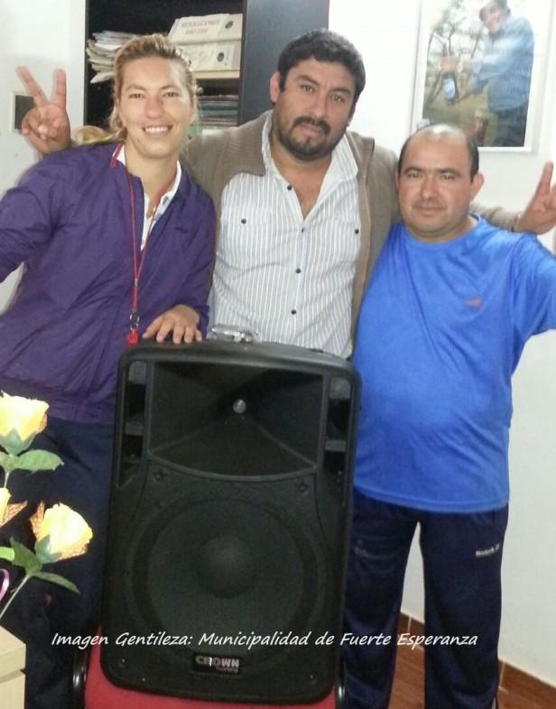 El CEF de Fuerte Esperanza recibió Donaciones del Municipio