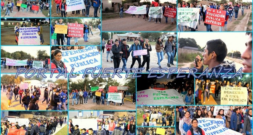 Fuerte Esperanza realizó una Marcha por Veto a la Ley 2832/18