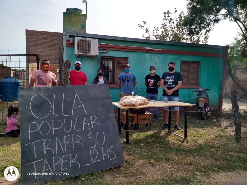 Castelli: Jovenes Solidarios de la Quinta 15