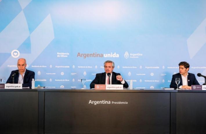 Fernández extendería la cuarentena hasta el 12 de julio