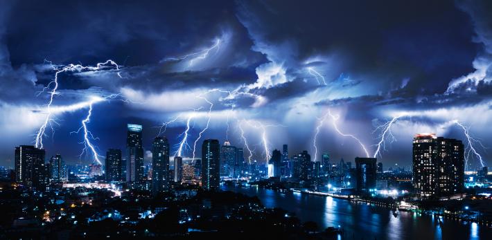 El rayo con mayor duración del mundo se registró en Argentina