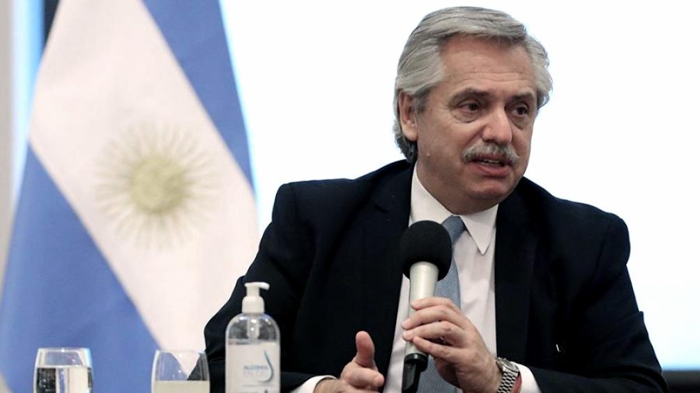 Alberto Fernández saludó a los periodistas y recordó a Marcelo Zlotogwiazda
