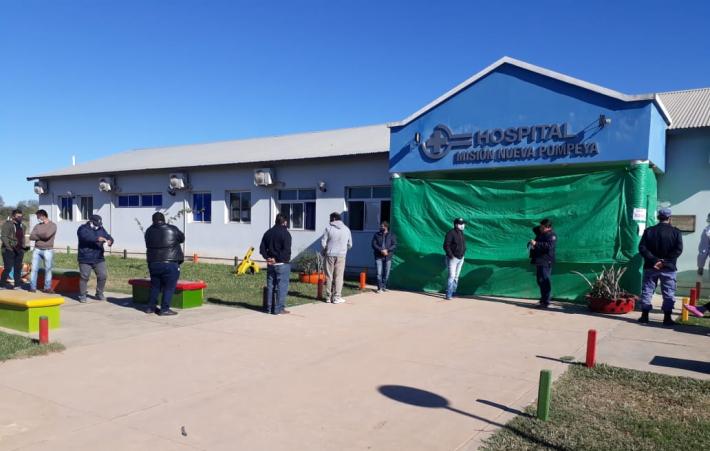El Impenetrable: Se realizaron más de 100 hisopados en Misión Nueva Pompeya