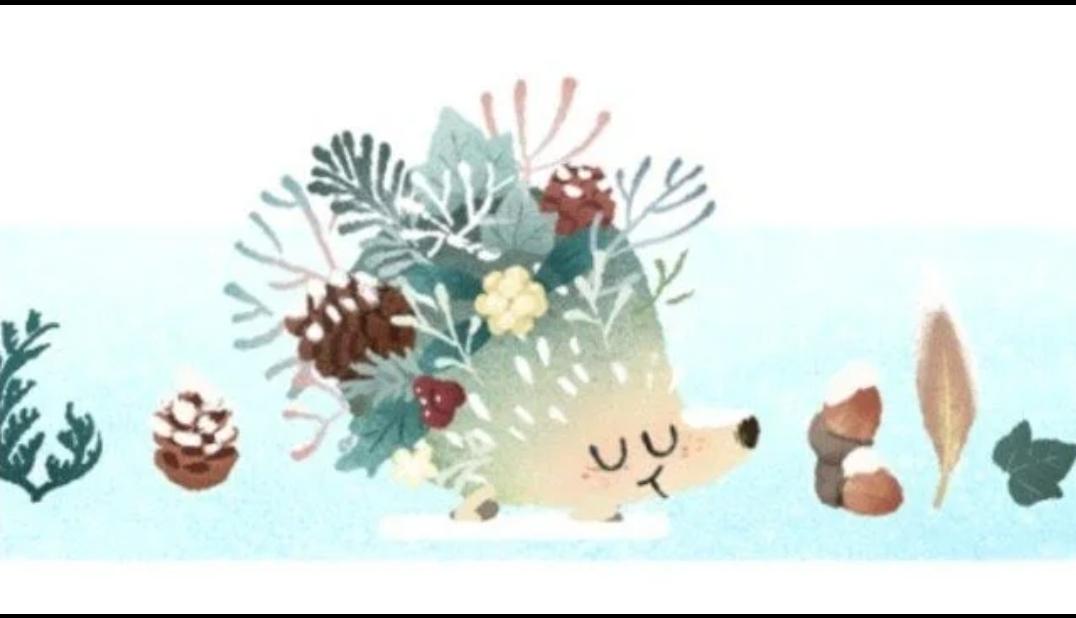 Solsticio de invierno 2021: Google le da la bienvenida a la época más fría del año con un doodle