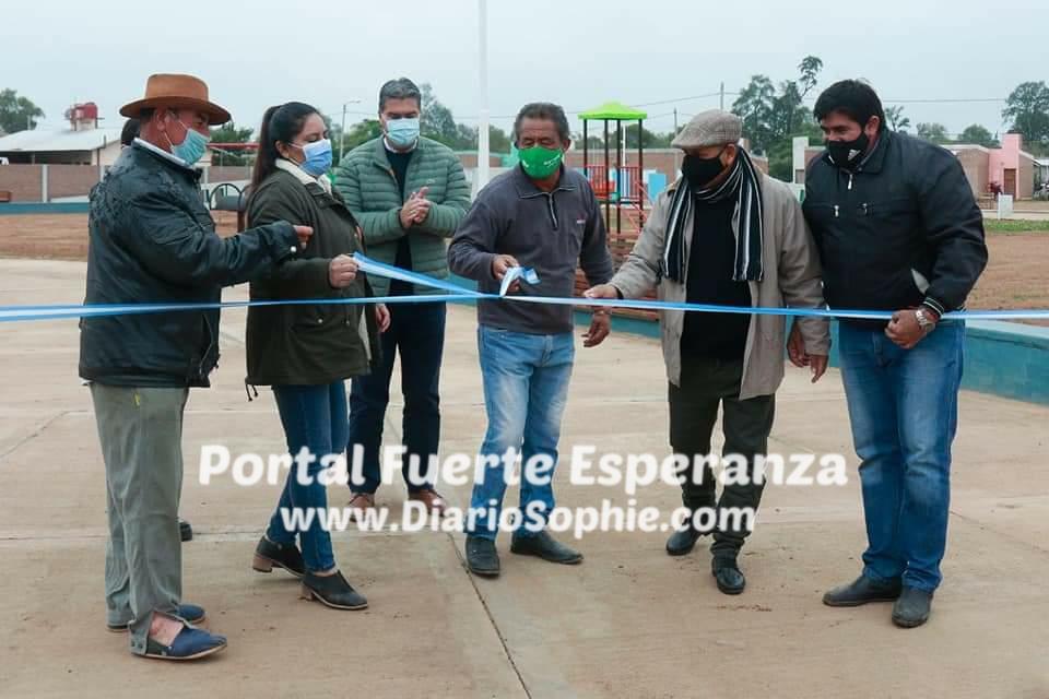 Fuerte Esperanza: Capitanich Inauguró Obras en la localidad.