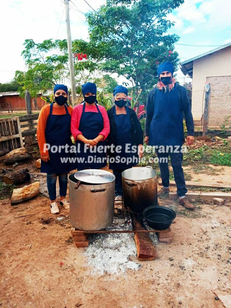 Andrea Vizgarra, la Mujer que demostró que no todo está bien en Fuerte Esperanza, hay hambre.