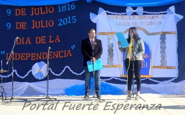 Acto 9 de Julio en la EFA N° 1 - 2015