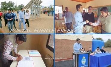 "Jorge Capitanich Inauguró edificio Anexo de la EEP N° 882 ""La Guarida"""
