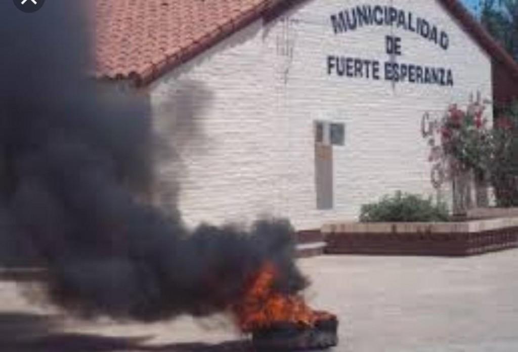 Fuerte Esperanza: Municipales Reclaman Recomposición Salarial Inmediata