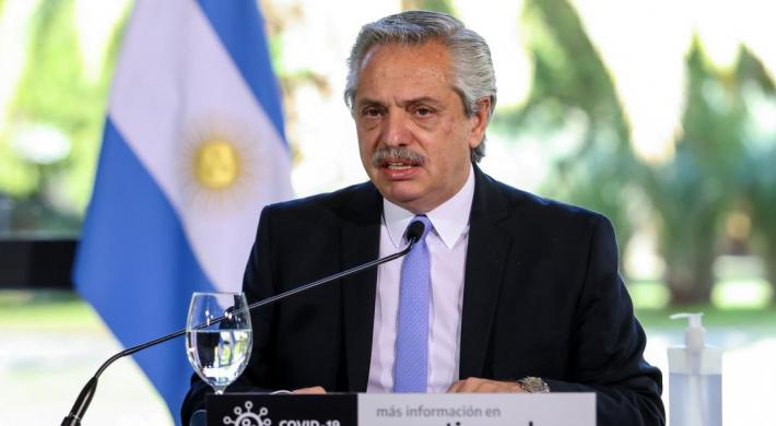 Alberto Fernández: estamos viviendo el momento más intenso de la pandemia