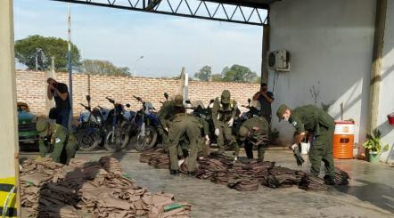 Se Desarmó la Guardia Whasek: Entregó las Armas