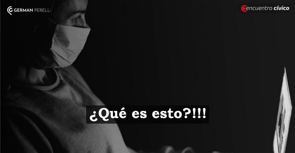 ¿QUÉ ES ESTO?!!! | Por Germán Perelli