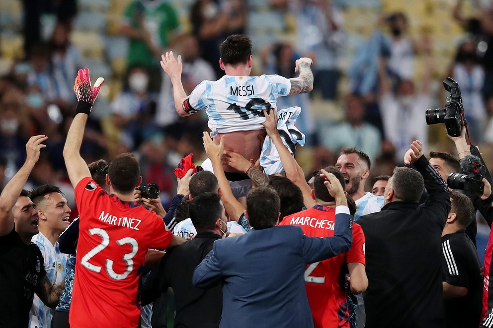 La biografía de Messi en la selección nacional: cómo fue el tortuoso camino para llegar a su primer trofeo