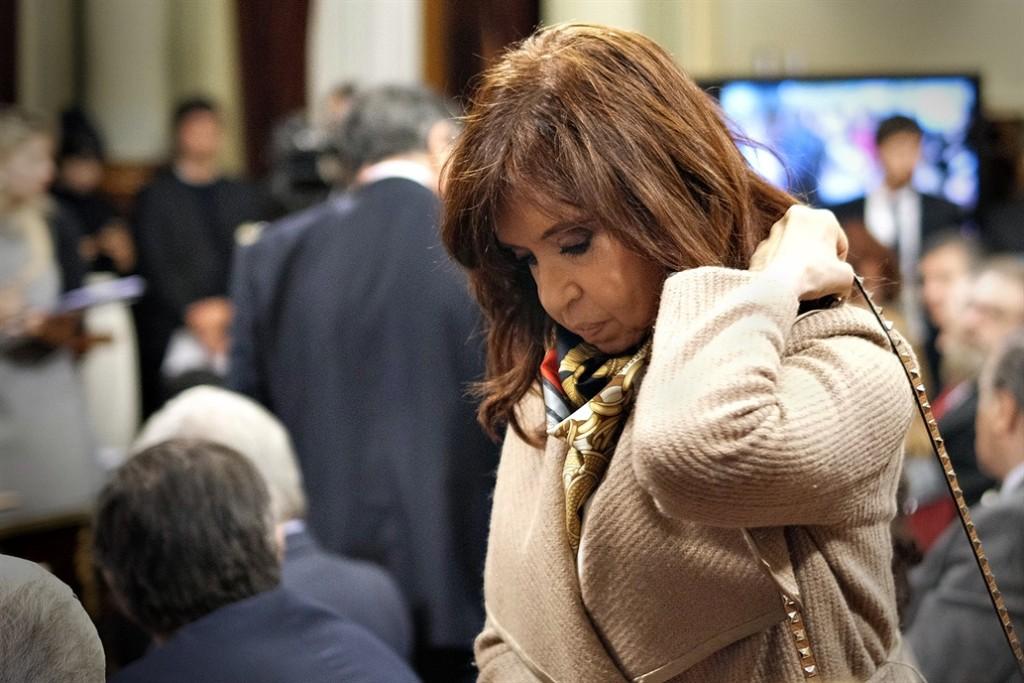 Marcha al Congreso para pedir el desafuero de la ex presidenta