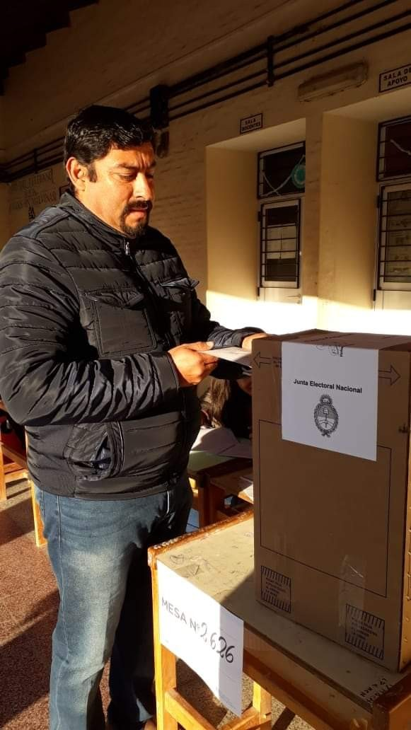 Fuerte Esperanza: Bulinki ya emitió su Voto | PASO 2019