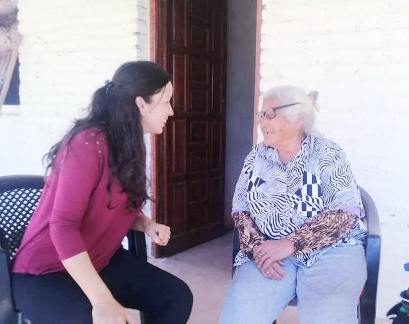 Eugenia Mercado: Los Jóvenes son una parte Importante en Fuerte Esperanza.