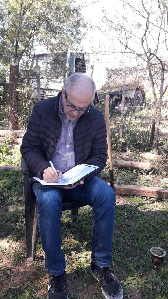 Roy Nikisch en Fuerte Esperanza   Candidato a Vicegobernador por el Frente