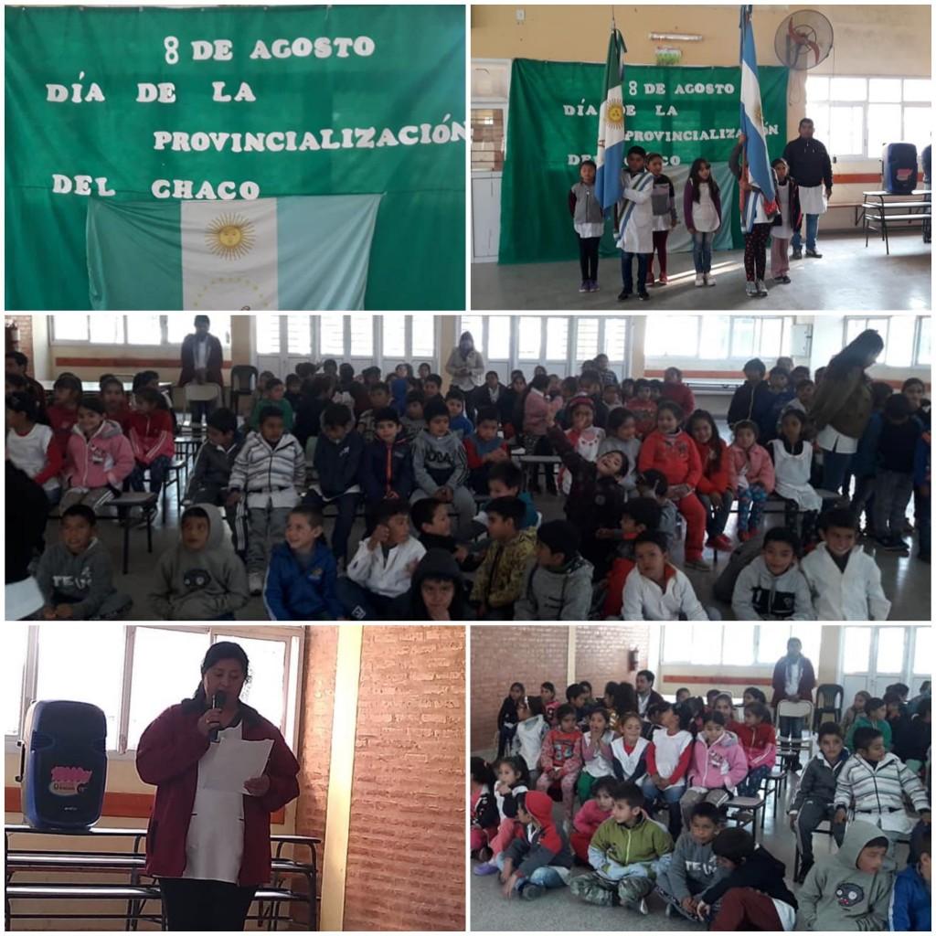 Acto Día de la Provincialización del Chaco, 68 Años Cumplió la Provincia | Portal Fuerte Esperanza
