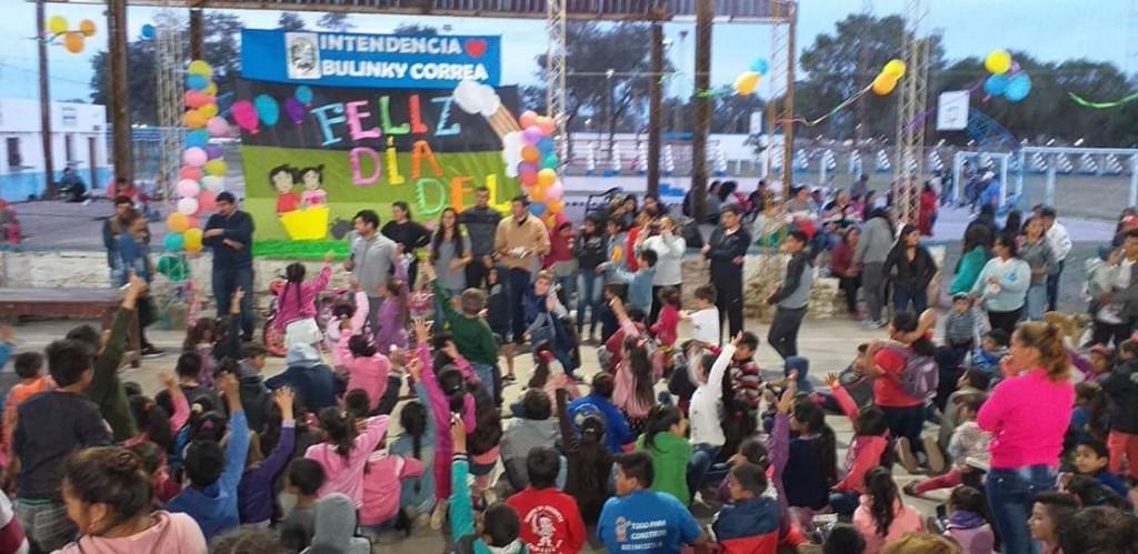 La Municipalidad Festejó el Día del Niño en Fuerte Esperanza