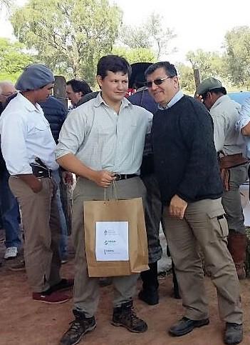 """Esteban De Domingo """"Premio al Productor más Joven y Entusiasta"""""""