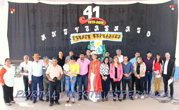 41° Aniversarios de Fuerte Esperanza: Acto Protocolar