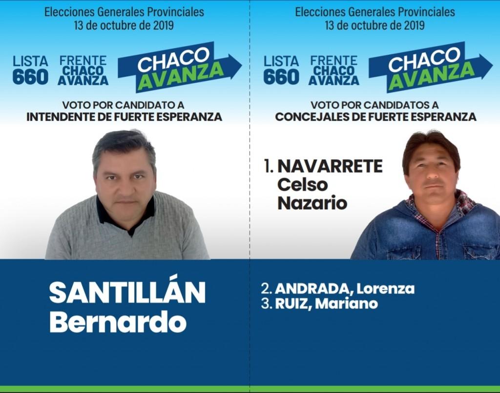 Fuerte Esperanza: El Frente Chaco Avanza presentó su boleta
