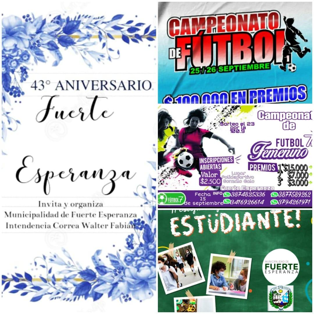 Subsede Educativa Fuerte Esperanza Invita al Aniversario de la Localidad