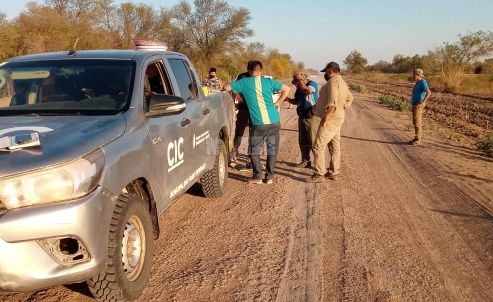 Camioneta de uso oficial fue detenida en operativo de drogas