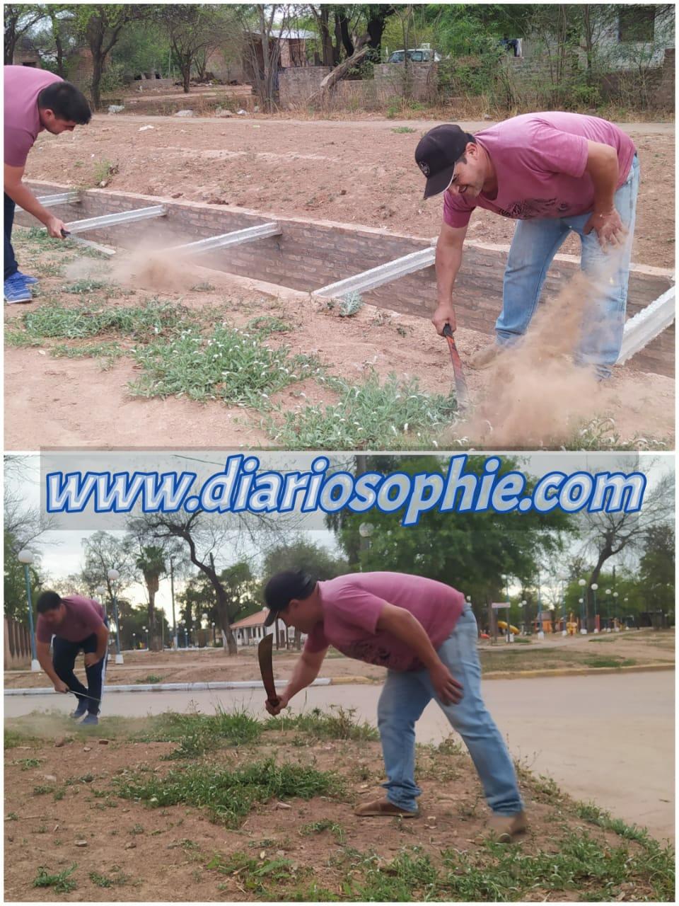 Fuerte Esperanza: Ultimando detalles de Limpieza en la localidad.