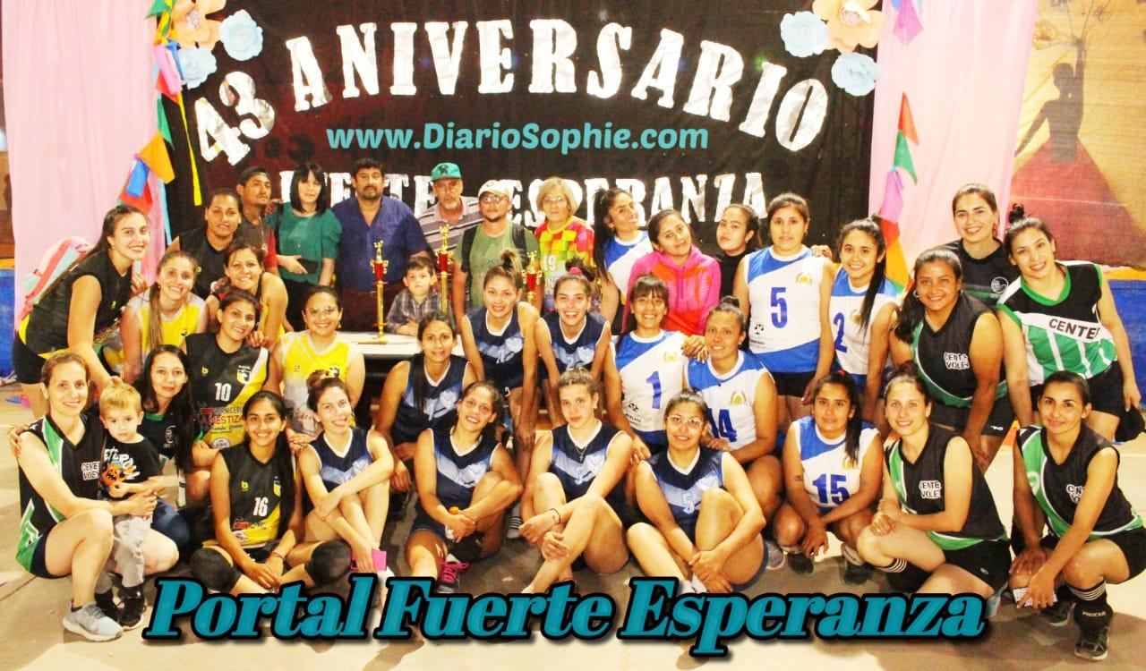 """4° Edición del Campeonato Interprovincial de Vóley """"Gonza entre Nosotros""""."""