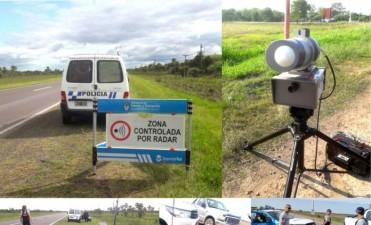 Ojo con el radar: fuertes controles en Ruta 11, Nicolás Avellaneda, acceso a Villa Ángela, Du Graty y Santa Sylvina