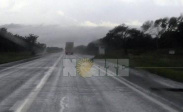 Llovió más de 100 mm en Pampa del Indio y hubo granizo en Los Frentones y en Tres Isletas
