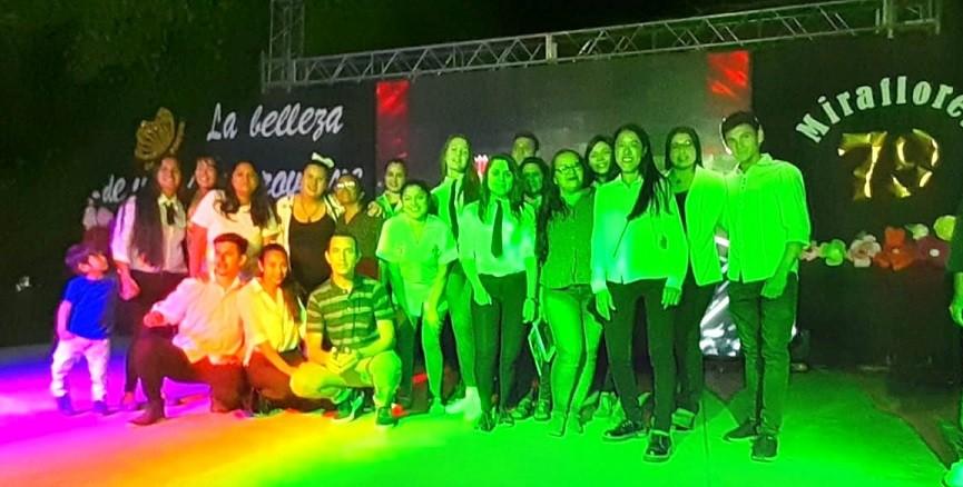 79° Aniversario de Miraflores Encabezado por Estudiantes del René Favaloro | ¡¡¡Feliz Aniversario!!!