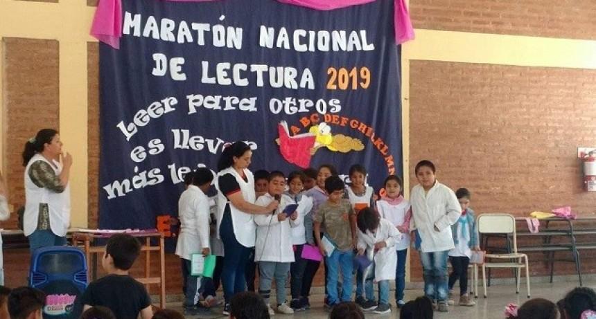 Fuerte Esperanza: 17° Maratón Nacional de Lectura.