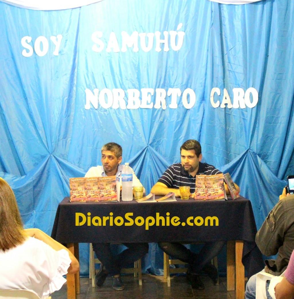 Se Presentó el libro SOY SAMUHÚ de Norberto Alfredo Caro